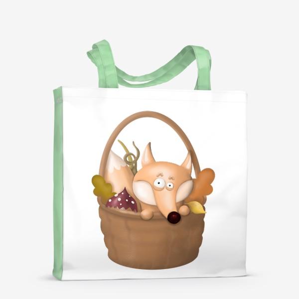 Сумка-шоппер «Осенняя лиса»