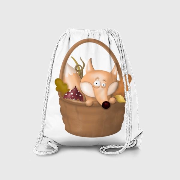 Рюкзак «Осенняя лиса»