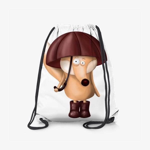 Рюкзак «Лис под зонтом»