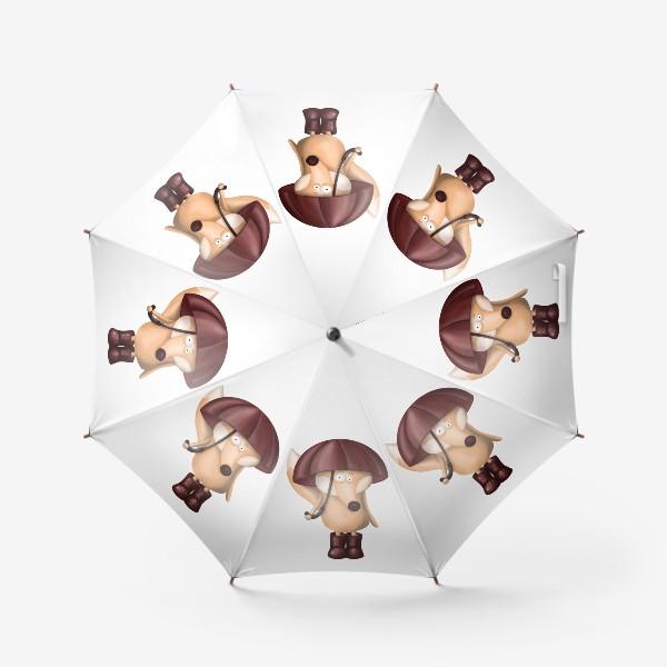 Зонт «Лис под зонтом»