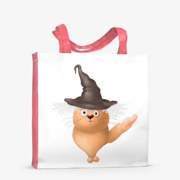 Сумка-шоппер «Кот в шляпе»