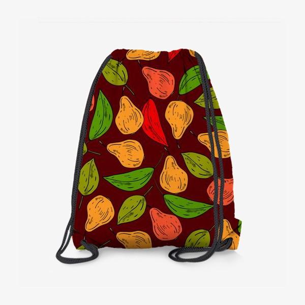 Рюкзак «яркие груши»