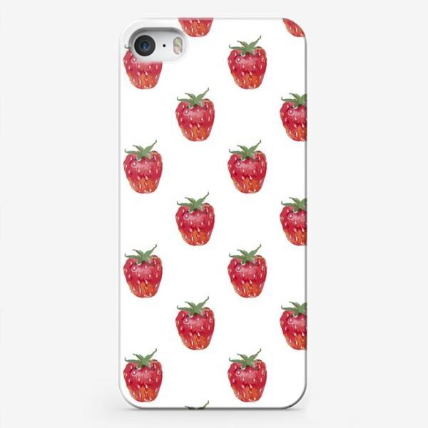 Чехол iPhone «Клубничное настроение»