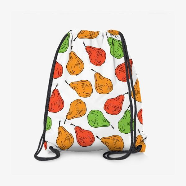 Рюкзак «груши на белом»