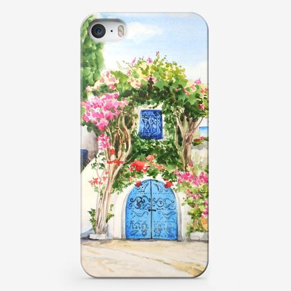 Чехол iPhone «Улица южного города»