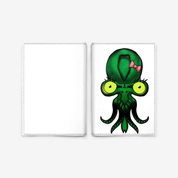 Обложка для паспорта «Малыш Ктулху»