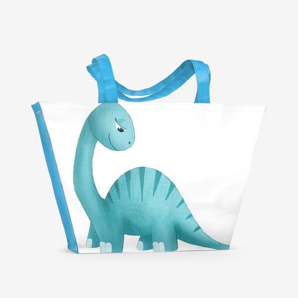 Пляжная сумка «Динозавр»