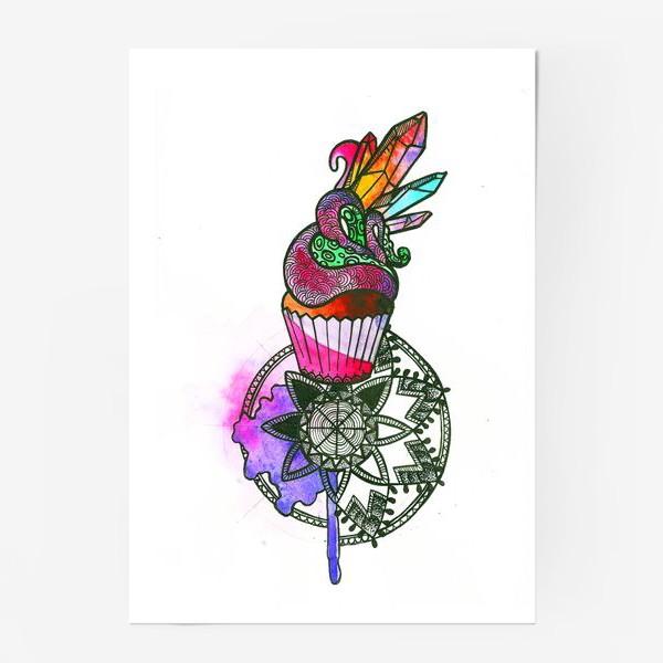 Постер «Пирожное»