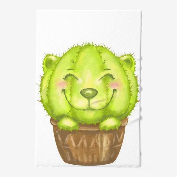 Полотенце «Кот кактус »
