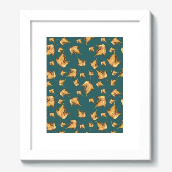 Картина «Осенние листья паттерн»