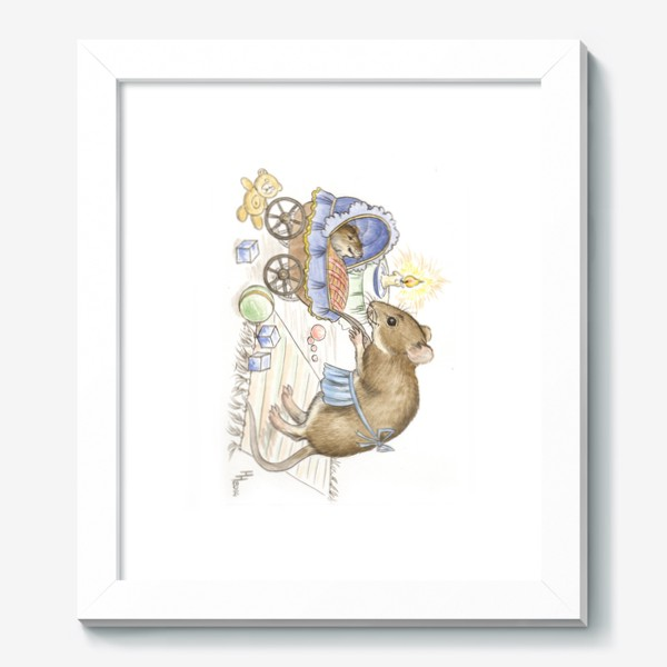 Картина «Мама мышь»