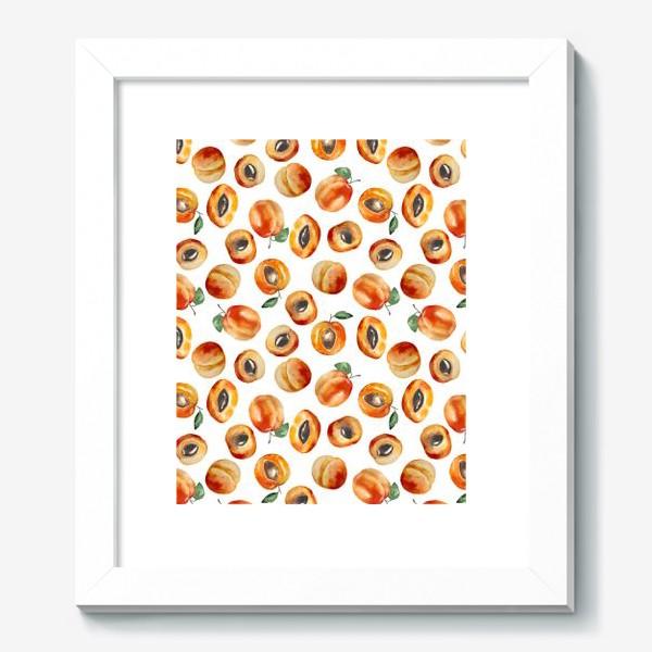 Картина «Сладкие абрикосы коллаж»