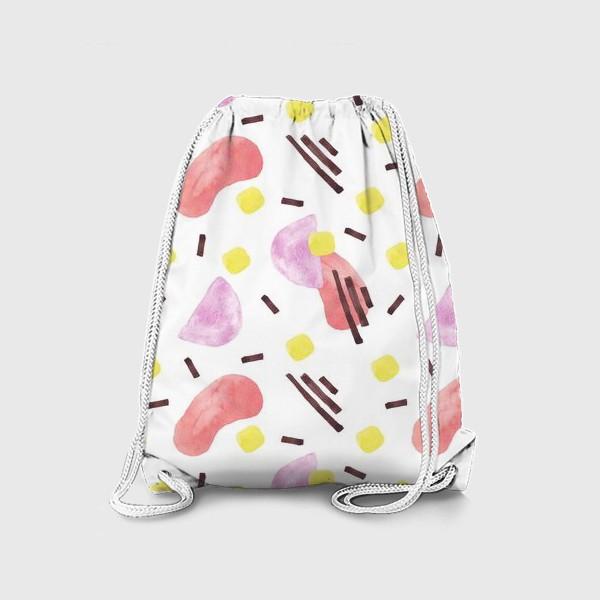 Рюкзак «Акварельная абстракция»