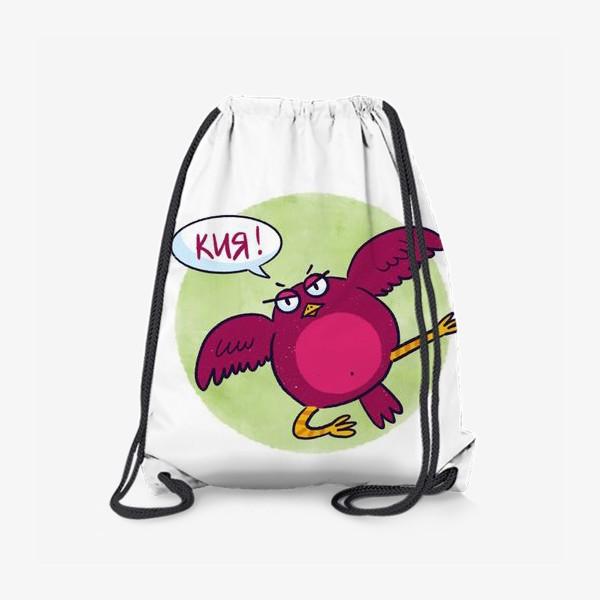 Рюкзак «Дерзкая птичка - каратист»