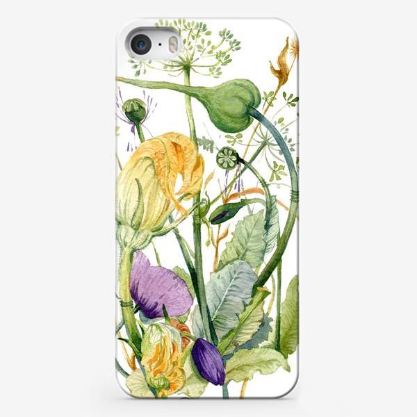 Чехол iPhone «Огород»