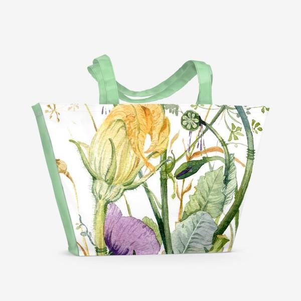 Пляжная сумка «Огород»
