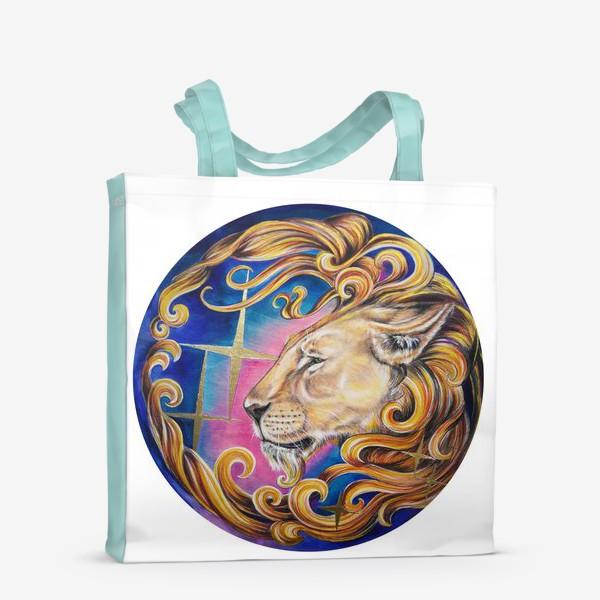 Сумка-шоппер «Звездный лев »