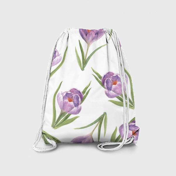 Рюкзак «Поле крокусов»