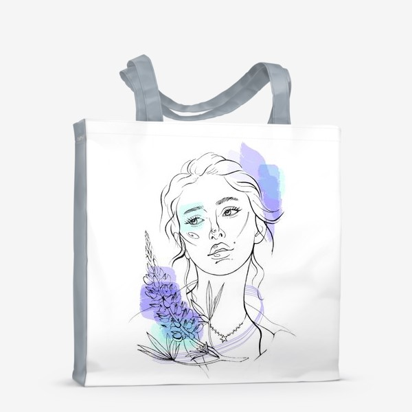 Сумка-шоппер «Мисс Люпин»