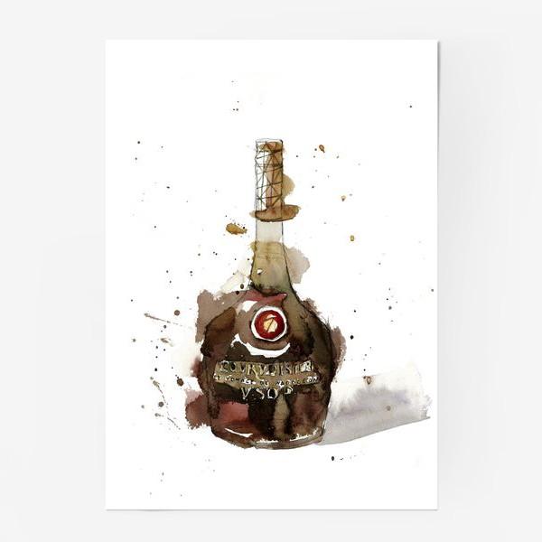 Постер «Брызги. Коньяк»