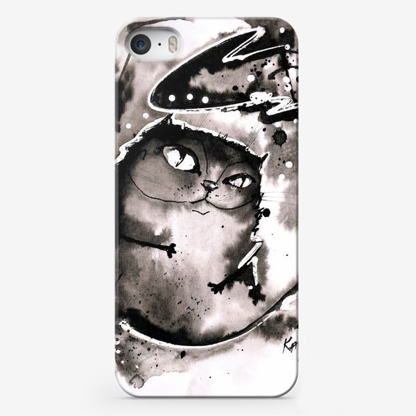 Чехол iPhone «Кот - Бегемот»