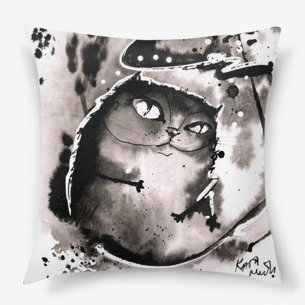 Подушка «Кот - Бегемот»