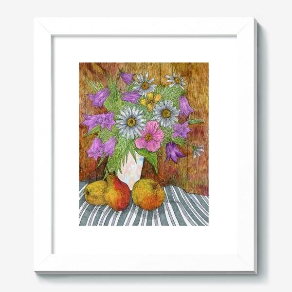 Картина «Яркий букет цветов»