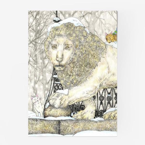 Постер «Старый добрый Лев и коты»