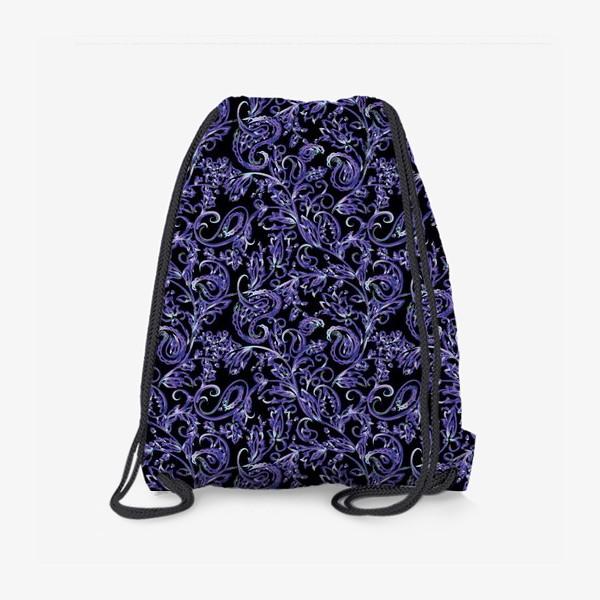 Рюкзак «Неоновый орнамент пейсли»