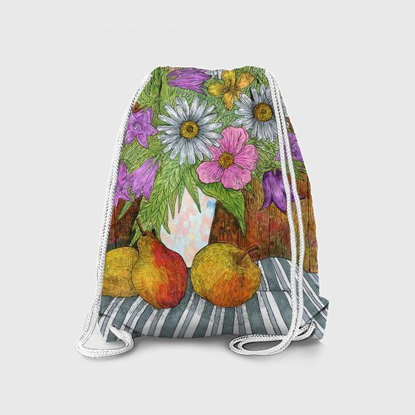 Рюкзак «Яркий букет цветов»
