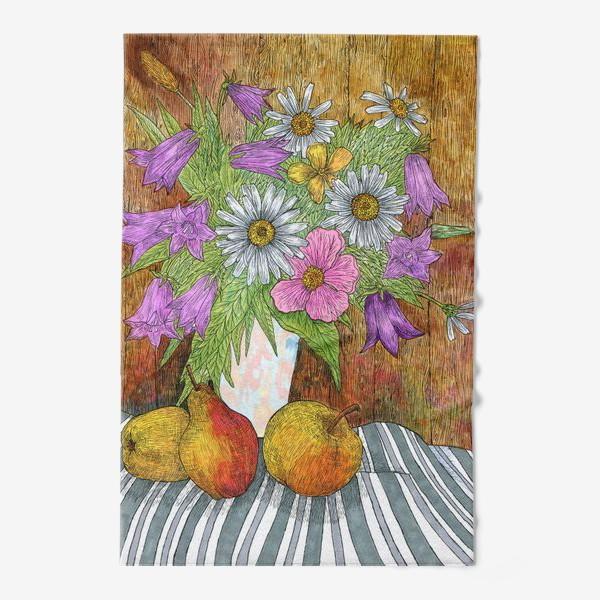 Полотенце «Яркий букет цветов»