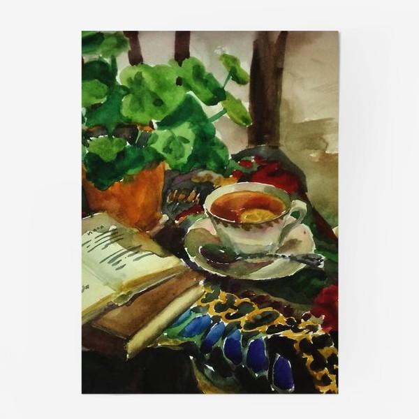 Постер «Чай»
