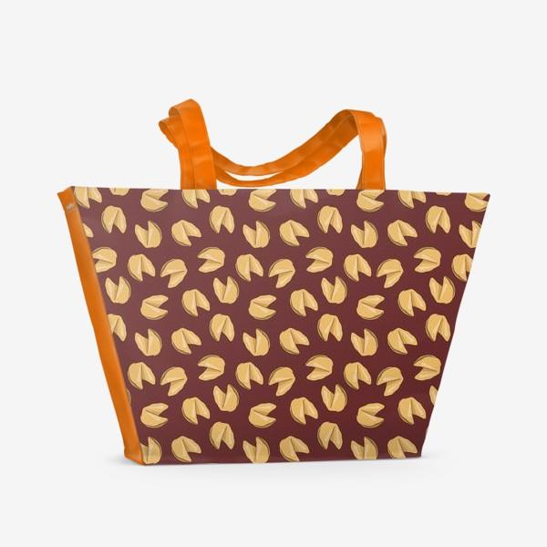 Пляжная сумка «Печенье с предсказаниями»