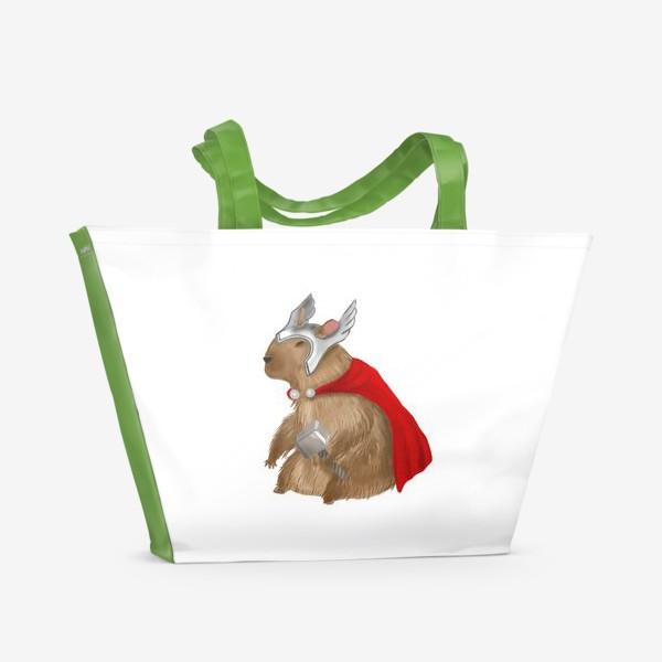 Пляжная сумка «Капибара Тор»