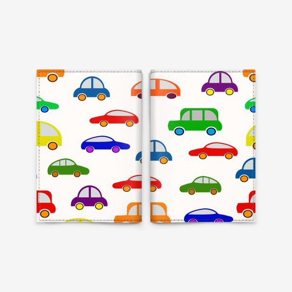 Обложка для паспорта «Разноцветные имашинки»