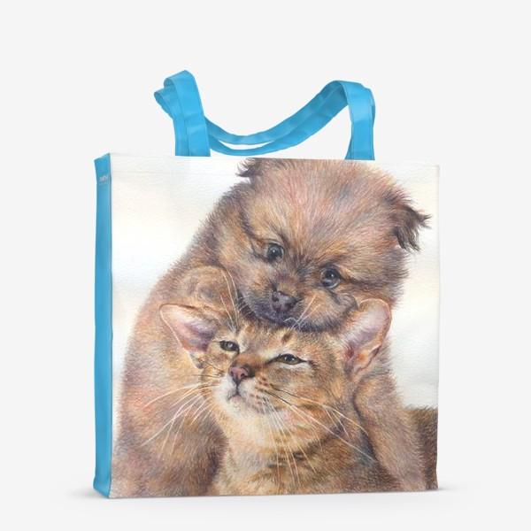 Сумка-шоппер «Такая дружба»