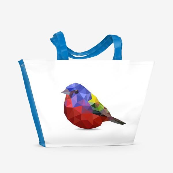 Пляжная сумка «Птица»