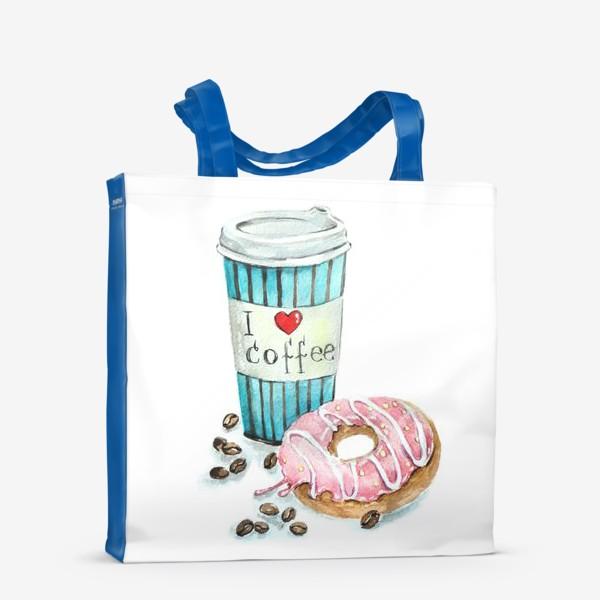Сумка-шоппер «i love coffee»