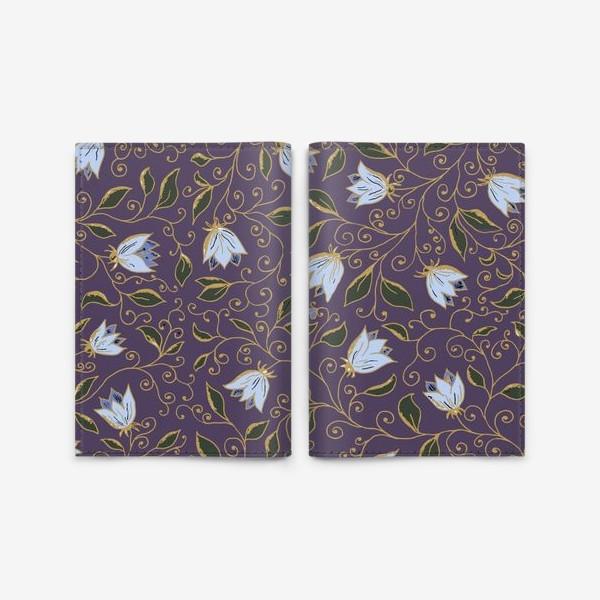 Обложка для паспорта «Полевые цветы. Арт 3»