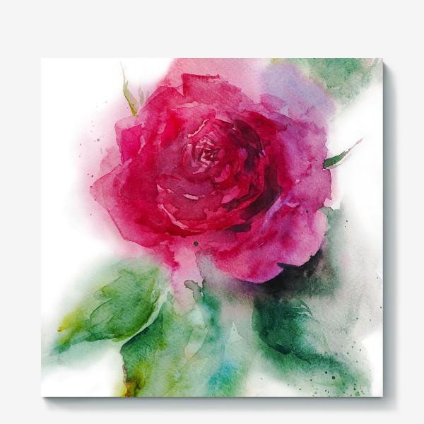 Холст «Поэма о розе»
