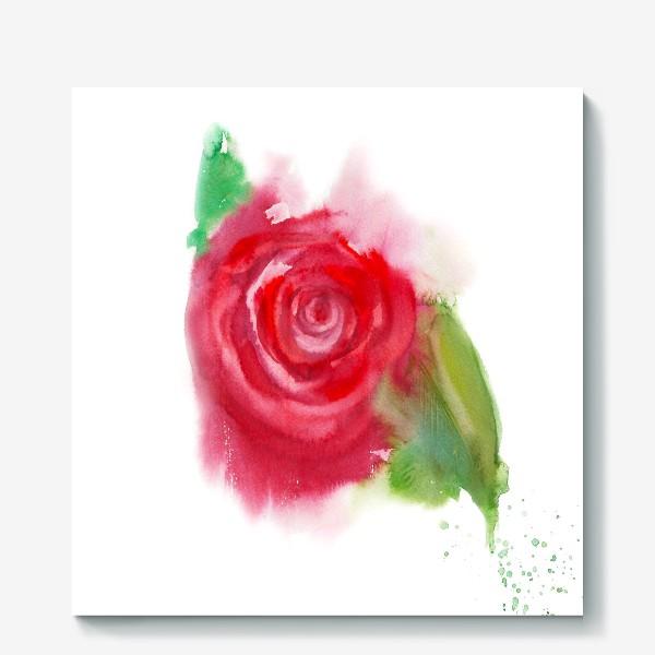 Холст «Магия цветка»