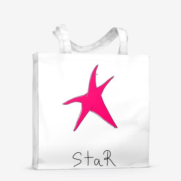 Сумка-шоппер «Морская звезда. Super-STAR»