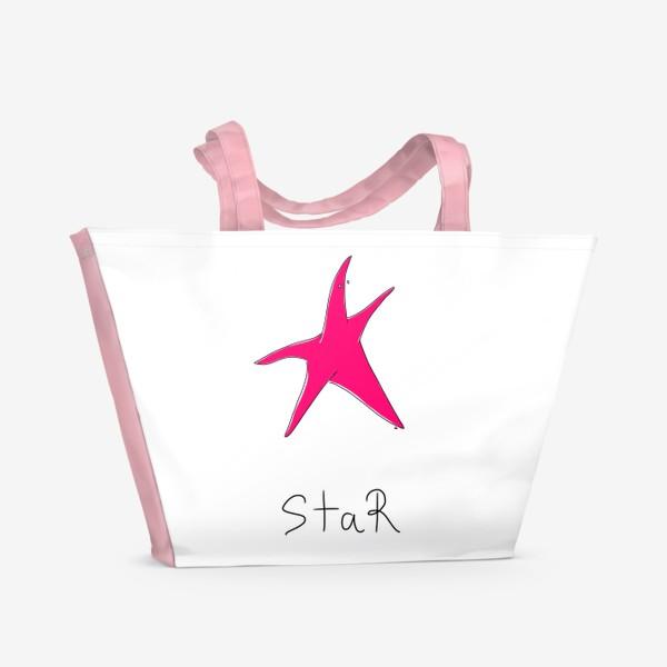 Пляжная сумка «Морская звезда. Super-STAR»