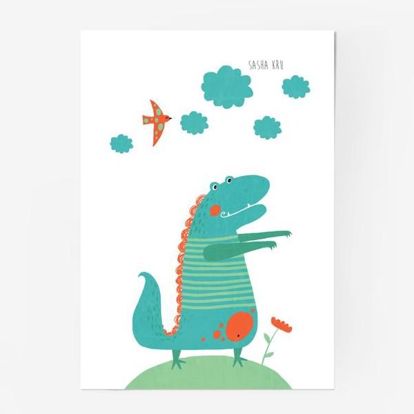Постер «Для детской. Дракоша»