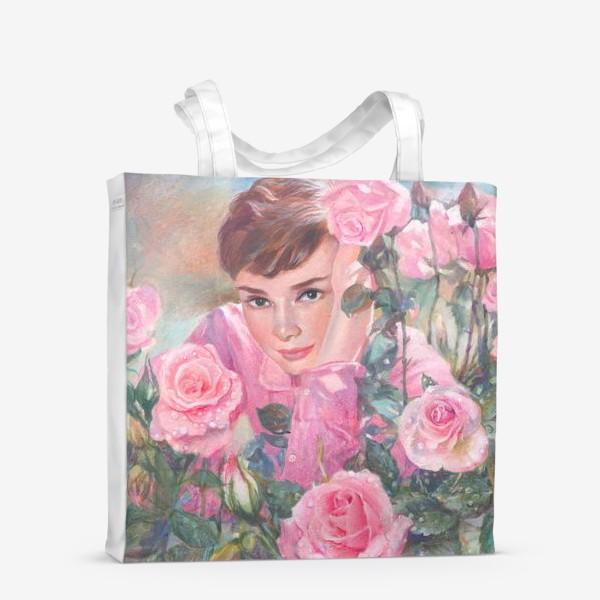Сумка-шоппер «Одри и розы»