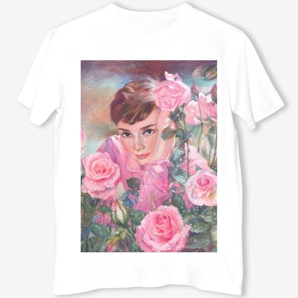 Футболка «Одри и розы»