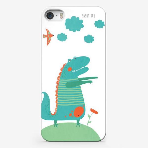 Чехол iPhone «Для детской. Дракоша»