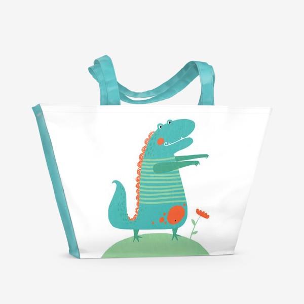 Пляжная сумка «Для детской. Дракоша»
