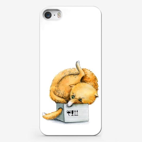Чехол iPhone «Котойога»