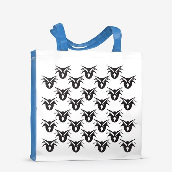 Сумка-шоппер «Хохлатые смешные пингвины»
